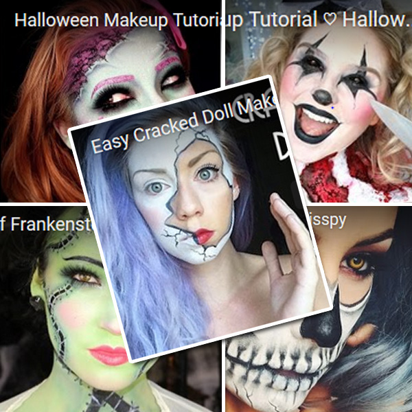 Scary Sexy Halloween Makeup
