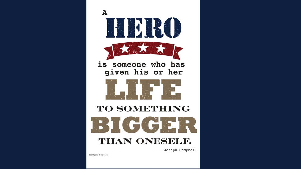 Veteran's Day Printable and Quotes